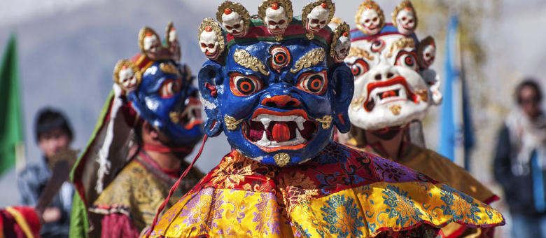 The vivacity of Ladakh Hemis festival