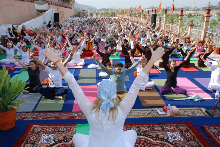Yoga Festival in Rishikesh
