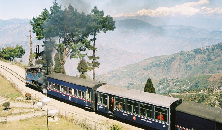 The Joy Rides in the Toy Trains of India