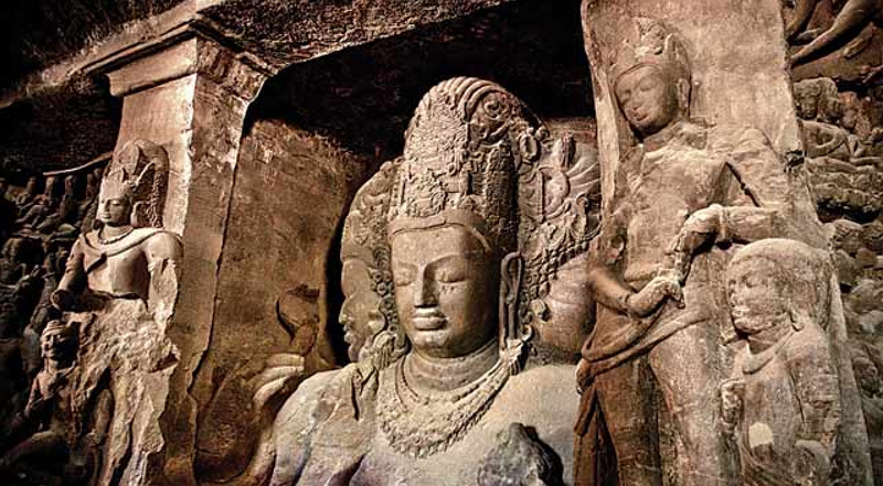 Elephanta Caves (designated in 1987)