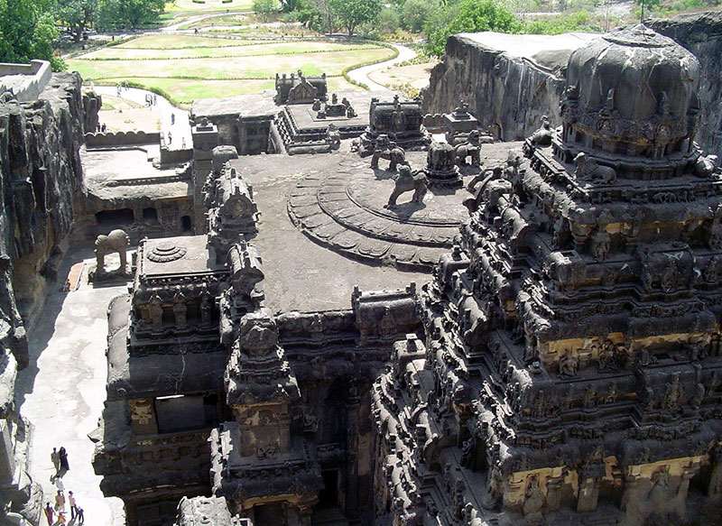 Ellora Caves (designated in 1983)