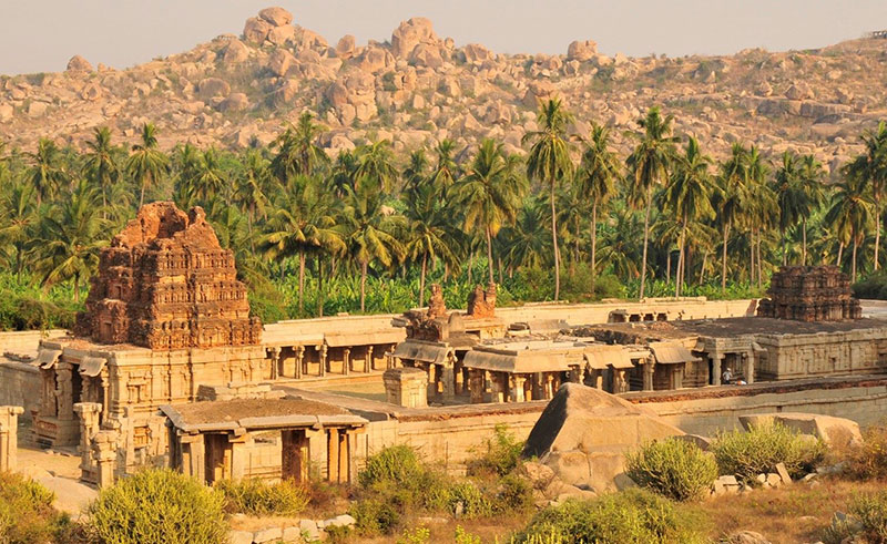 Group of Monuments at Hampi (designated in 1986)