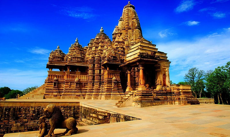 Khajuraho Group of Monuments (designated in 1986)