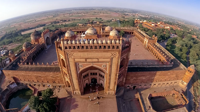 Fatehpur Sikri (designated in 1986)