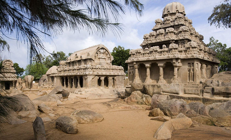 Group of Monuments at Mahabalipuram (designated in 1984)