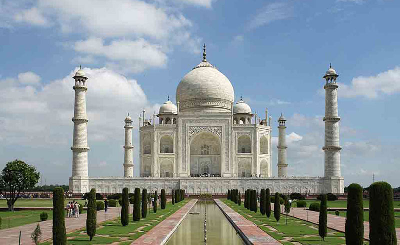 Taj Mahal (designated in 1983)
